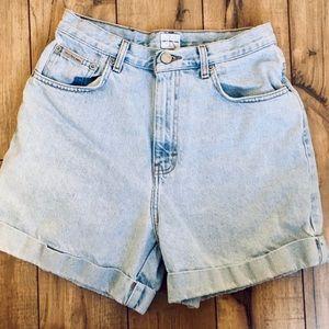 Vintage Calvin Klein High Waisted Shorts